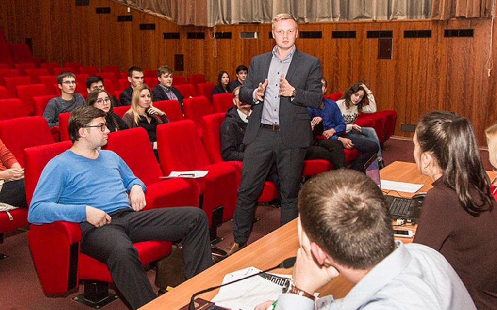 Заседание молодежного парламента