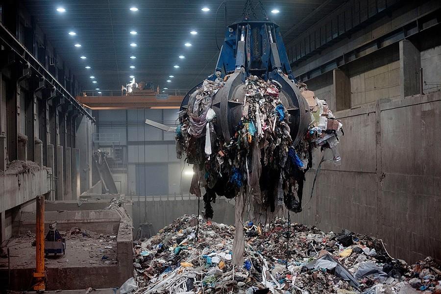 Строительство мусоросжигательных заводов